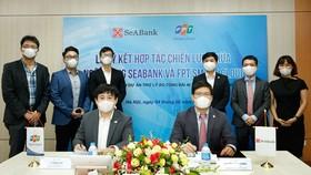 Ký kết hợp tác chiến lược giữa SeABank với FPT Smart Cloud.