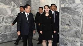Kim Yo Jong gặp gỡ các quan chức chính phủ Hàn Quốc vào tháng 6 năm 2019. / Ảnh: Bộ Thống nhất