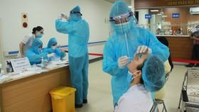 Số bệnh nhân Covid-19 sau 20 ngày bùng phát dịch đã lên 1.079 người. Ảnh: Báo Bắc Giang