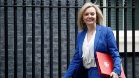 Bộ trưởng Thương mại Liz Truss. Ảnh: Reuters