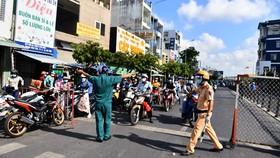 Tạm ngưng vận chuyển hành khách trên địa bàn quận Gò Vấp và phường Thạnh Lộc, quận 12 kể từ ngày 31-5 đến hết ngày 14-6. Ảnh: Zing