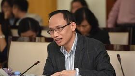 TS. Cấn Văn Lực, thành viên Hội đồng Tư vấn Chính sách Tài chính - tiền tệ Quốc gia.