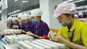 Một khó khăn lớn của nhiều doanh nghiệp FDI hiện nay là thiếu nhân công. Trong ảnh: Sản xuất tại Công ty Luxshare. Ảnh: Đ.T