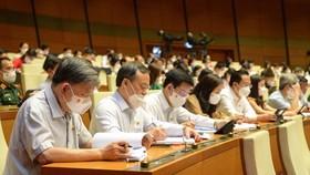 Nội dung về phòng, chống dịch Covid-19 sẽ được đưa vào Nghị quyết chung của kỳ họp thứ nhất, Quốc hội khóa XV. Ảnh: Quochoi.vn