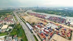 Cụm cảng ICD Trường Thọ sẽ sớm được di dời về ICD Long Bình. Ảnh: HOÀNG HÙNG