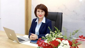 Quyền Tổng giám đốc NCB, bà Dương Thị Lệ Hà. Ảnh:NCB.