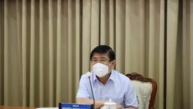 hủ tịch UBND TPHCM Nguyễn Thành Phong - Ảnh: TTBC