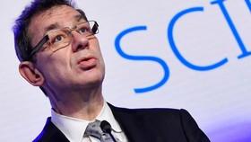 CEO Albert Bourla của Pfizer. Ảnh: Reuters.