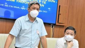 Thứ trưởng Bộ Y tế Nguyễn Trường Sơn: TPHCM không thể 'Zero Covid-19'