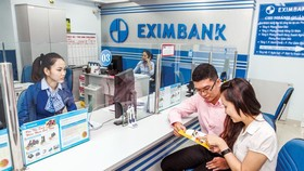 Customers are being served at EXIMBANK.