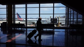 A terminal of Reagan National Airport in Arlington, Va., on March 17. PHOTO: MANDEL NGAN/AGENCE FRANCE-PRESSE/GETTY IMAGES