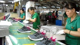 An estimated 40% of Nike processed goods are made in Vietnam.