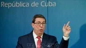Bộ trưởng Ngoại giao Cuba Bruno Rodriguez. Ảnh: AFP/TTXVN