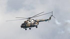 Máy bay trực thăng Mi-8 của quân đội Nga. (Nguồn: TASS)