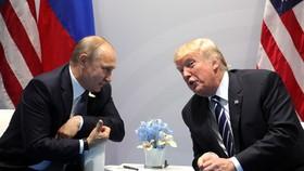 Tổng thống Mỹ Donald Trump (phải) và Tổng thống Nga Vladimir Putin. (Nguồn: Kremlin.ru)