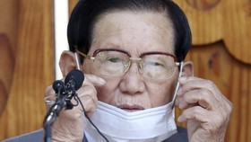 Ông Lee Man-hee. (Nguồn: AP)