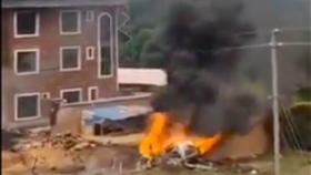 Hình ảnh lan truyền trên mạng xã hội, nói rằng tiêm kích Su-35 Trung Quốc bị bắn rơi, tuy nhiên đảo Đài Loan đã bác bỏ tin thất thiệt