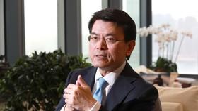 Người đứng đầu Thương mại và Phát triển Kinh tế Hồng Kông, Edward Yau. Ảnh: May Tse