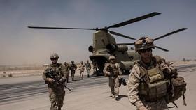 Binh sỹ Mỹ đồn trú tại Afghanistan. (Nguồn: Getty Images)