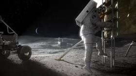 Thám hiểm Mặt Trăng. (Nguồn: NASA)