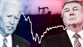 Donald Trump and Joe Biden would both seek to usher in changes to the US energy sector in the next four years that will have nuanced effects on the price of crude oil, analysts say. © FT montage; Getty Images; Reuters