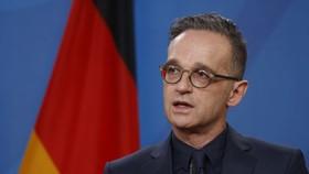 Bộ trưởng Bộ Ngoại giao Đức Heiko Maas phát biểu tại Văn phòng Bộ Ngoại giao Đức. Nguồn ảnh: Politico.eu