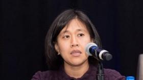 Bà Katherine Tai được Tổng thống đắc cử Mỹ Joe Biden lựa chọn làm Đại diện Thương mại Mỹ. Ảnh: US CHINA/TTXVN