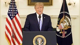Đảng Dân chủ trình dự thảo luận tội Tổng thống Donald Trump
