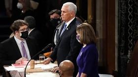 Phó Tổng thống Mike Pence bác bỏ đề xuất phế truất ông Trump. Ảnh: The Hill
