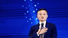 Jack Ma tại Hội nghị Thượng đỉnh Bến Thượng Hải 2020 ở Thượng Hải.  Ảnh: Handout