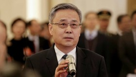 Guo Shuqing led a clampdown on China's once-booming peer-to-peer lending sector © Reuters