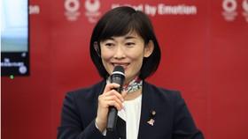 Tamayo Marukawa, Bộ trưởng của Nhật Bản về Thế vận hội Olympic và Paralympic Tokyo. @EPA