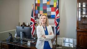 Bộ trưởng thương mại quốc tế của Anh Liz Truss.