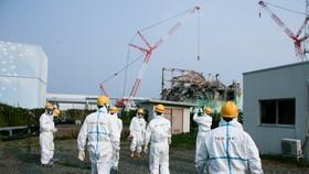 Nhà máy điện hạt nhân Fukushima Dai-ichi. Ảnh: Giovanni Verlini/IAEA