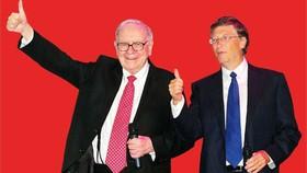 Tỷ phú Warren Buffett (trái) và Bill Gates sẽ xây dựng lò phản ứng hạt nhân thế hệ mới. (Ảnh: Insider)