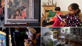 Thời gian sử dụng thiết bị điện tử tăng lên có thể dẫn đến suy giảm thị lực ở trẻ vị thành niên. Nguồn ảnh: Getty Images.
