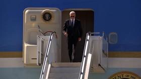 Tổng thống Mỹ Joe Biden đã tới Geneva ngày 15/6. Ảnh: CNN.