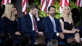 Con cái ông Trump không còn được mật vụ bảo vệ
