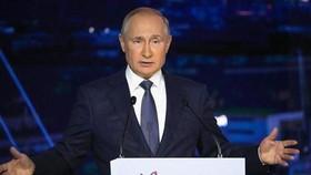 Tổng thống Nga Vladimir Putin. (Ảnh: AFP/TTXVN)