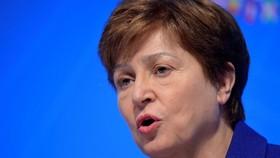Giám đốc điều hành WB khi đó là Kristalina Georgieva, hiện nay là Giám đốc IMF