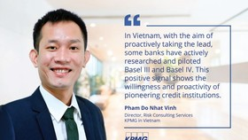 Pham Do Nhat Vinh, Director of Risk Consulting Services, KPMG in Vietnam
