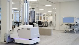 Robot khử trùng do EU cung cấp. (Nguồn: plantadoce)