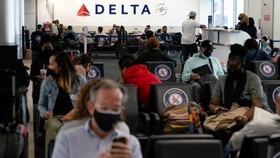 Vaccinated air travellers will still need to obtain a negative Covid test within the previous three days © Bloomberg