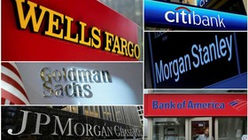 The leading US banks have all benefited from a dealmaking boom on Wall Street © REUTERS