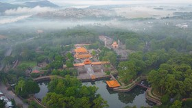 The tomb of King Tu Duc in Hue in central Vietnam. Photo by VnExpress/Vo Thanh