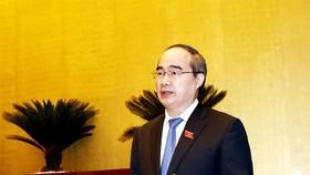Bí thư Thành ủy TPHCM Nguyễn Thiện Nhân. Ảnh: VGP News