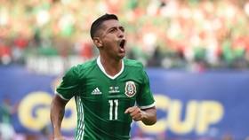 Elias Hernandez đã có màn trình diễn ấn tượng trong trận ra quân của Mexico.