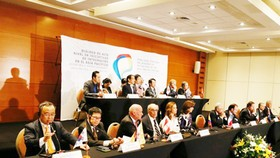 Đại diện 11 nước thành viên TPP, ngoại trừ Mỹ, nhất trí rằng TPP vẫn rất quan trọng. Ảnh:Reuters