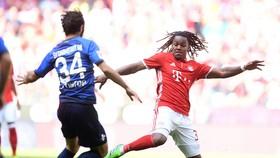 Renato Sanches (phải) đang thu hút sự quan tâm từ AC Milan.