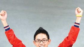 Kình ngư Lâm Quang Nhật hướng đến cú hat-trick vàng ở đấu trường SEA Games.  Ảnh: T.L